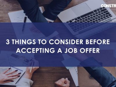 3 things to consider before accepting a job offer
